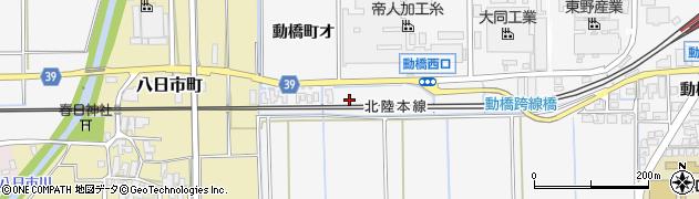 石川県加賀市庄町(ロ)周辺の地図