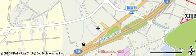 石川県加賀市箱宮町(カ)周辺の地図