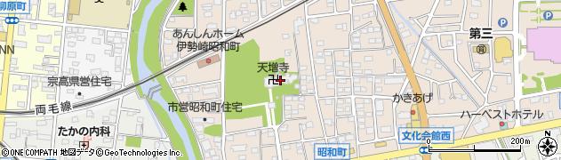 天増寺周辺の地図