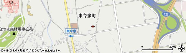 群馬県太田市東今泉町周辺の地図