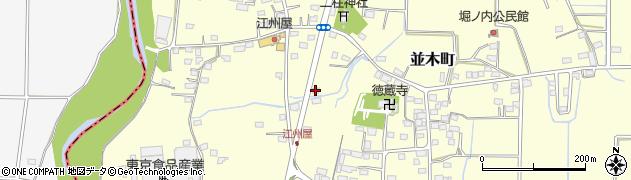 栃木県佐野市並木町461周辺の地図