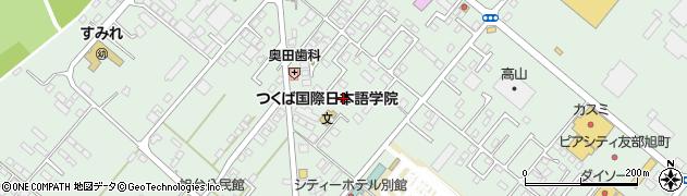 茨城県笠間市旭町周辺の地図