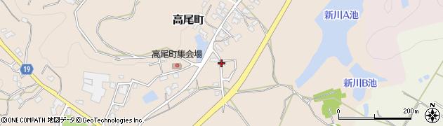 石川県加賀市高尾町(ケ)周辺の地図