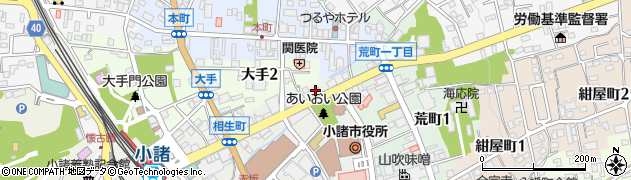 千野金物店周辺の地図