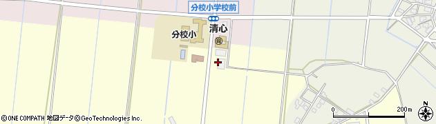 石川県加賀市分校町(ヘ)周辺の地図
