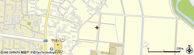 栃木県栃木市大平町西野田周辺の地図