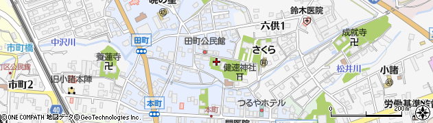 実大寺周辺の地図
