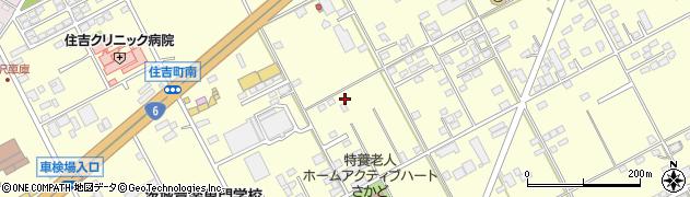 茨城県水戸市住吉町周辺の地図
