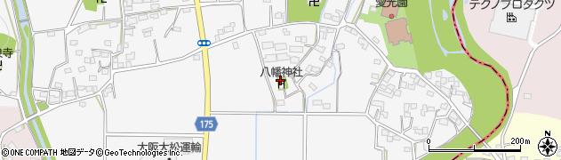 栃木県足利市稲岡町周辺の地図