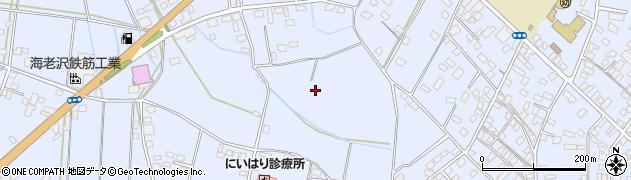 茨城県筑西市門井周辺の地図