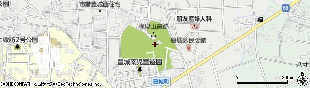 蓮神社周辺の地図