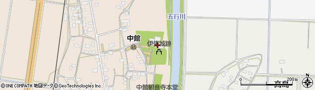 中館観音寺周辺の地図