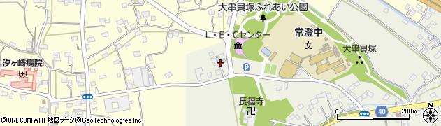 萩原石材水戸店周辺の地図