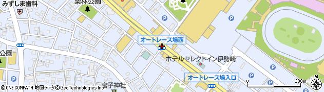 レース場西周辺の地図