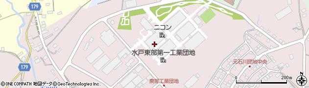 株式会社ニコン 水戸製作所周辺の地図