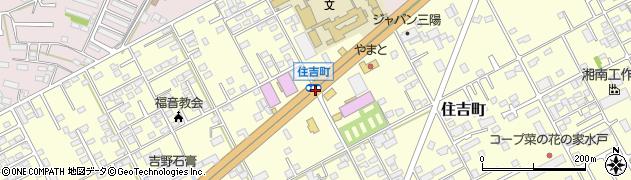 住吉町周辺の地図