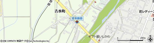 吉水新田周辺の地図