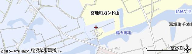 石川県加賀市小塩辻町(ム)周辺の地図