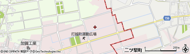 石川県加賀市打越町(な)周辺の地図