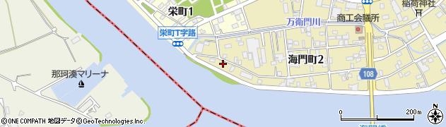 横山鉄工所周辺の地図