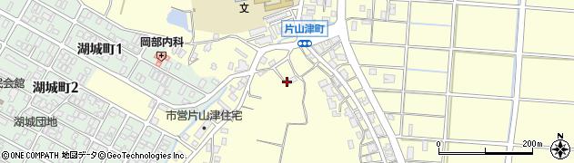 石川県加賀市片山津町(エ)周辺の地図
