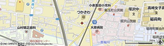 飯塚ハイツ周辺の地図