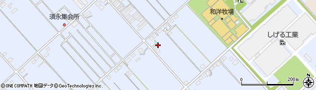 群馬県太田市新田市野倉町周辺の地図