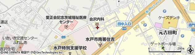 少林寺拳法茨城水戸支部周辺の地図