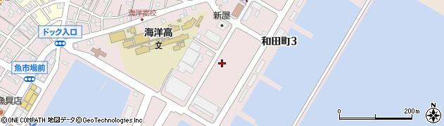 茨城県ひたちなか市和田町周辺の地図