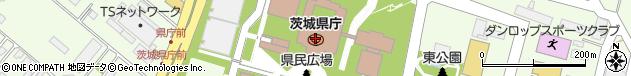 茨城県周辺の地図