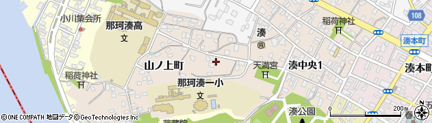 茨城県ひたちなか市山ノ上町周辺の地図