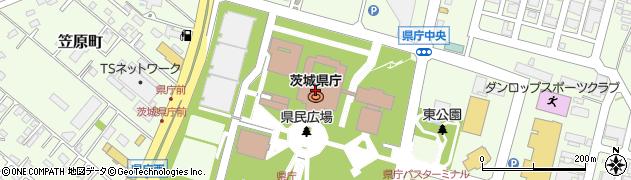 茨城県庁保健福祉部生活衛生課食の安全対策室周辺の地図