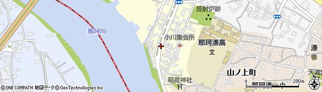 茨城県ひたちなか市栄町周辺の地図