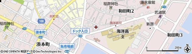 彦六酒店周辺の地図