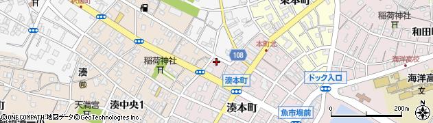 ミナト薬局周辺の地図