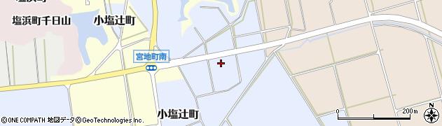石川県加賀市野田町(ハ)周辺の地図