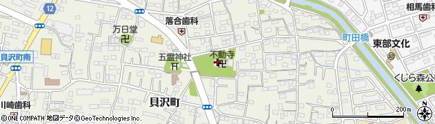 不動寺周辺の地図
