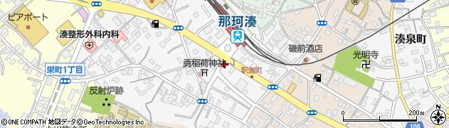 モンテヤマザキ那珂湊店周辺の地図
