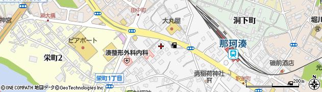 茨城県ひたちなか市横堰周辺の地図