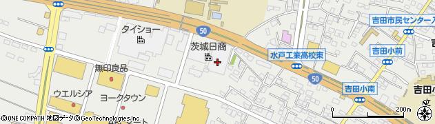 ダスキンレントオール水戸ステーション周辺の地図