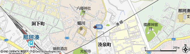 天理教那珂湊分教会周辺の地図