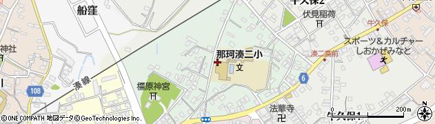 茨城県ひたちなか市富士ノ上周辺の地図