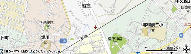 茨城県ひたちなか市富士ノ下周辺の地図