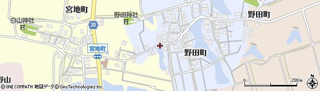 石川県加賀市宮地町(タ)周辺の地図