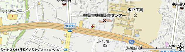 つり具ジャイアント水戸南店周辺の地図