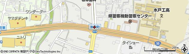 米沢町周辺の地図