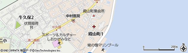 茨城県ひたちなか市殿山町周辺の地図