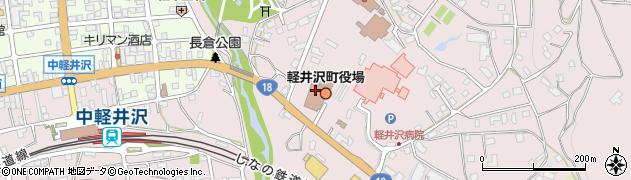 長野県軽井沢町(北佐久郡)周辺の地図