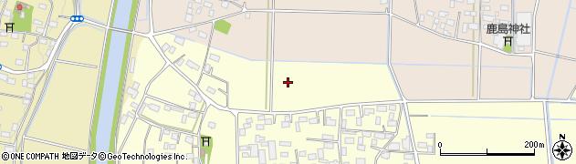 茨城県筑西市国府田周辺の地図