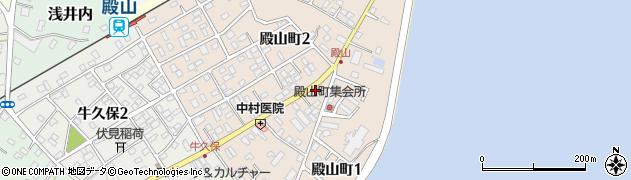 磯崎理容所周辺の地図